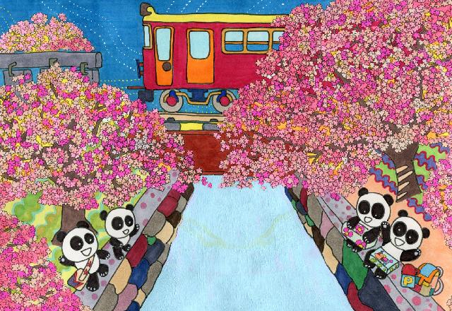 夙川のお花見 slide3